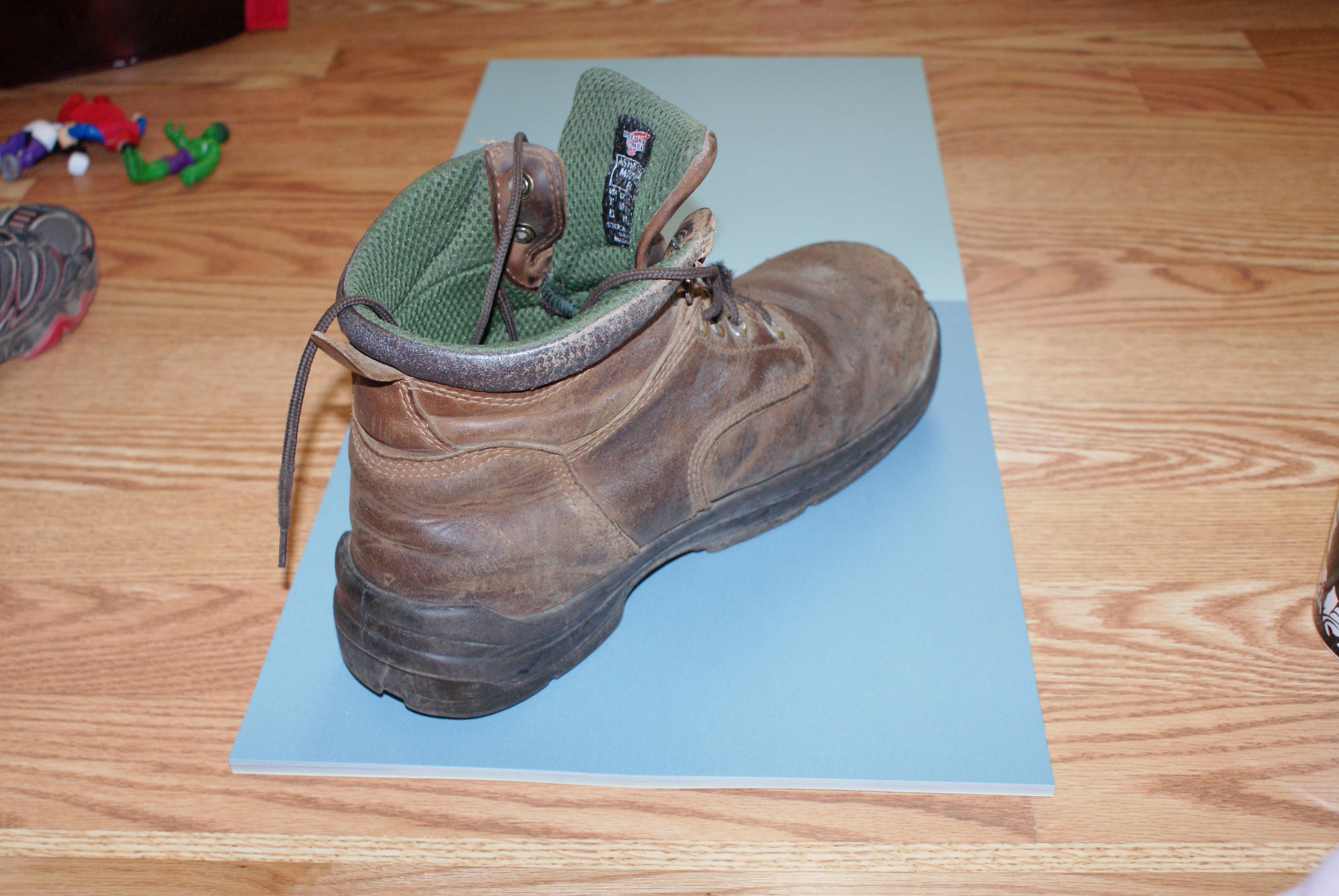 Following In Daddy's Footprints